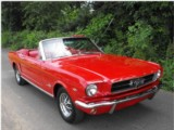 Location de classic car Ford Mustang Cabriolet 65