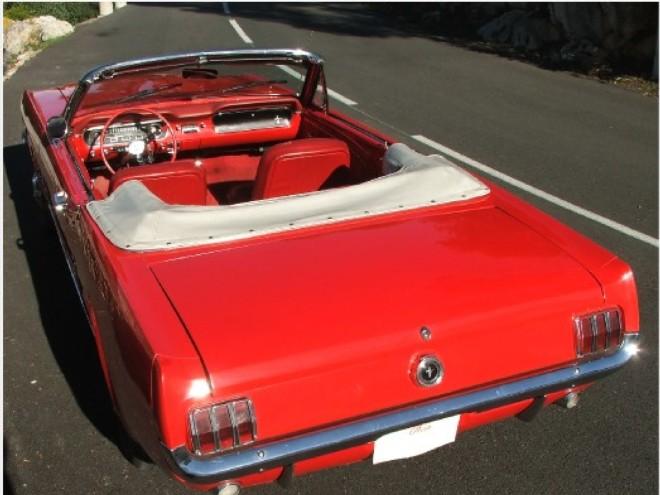 noleggio una ford mustang 65 convertibile a nice con easy car