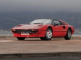 Classic Car rental  Convertible Ferrari 308 GTS - Hire classic luxury car convertible comfortable authentic stylish vintage in Beaulieu sur Mer Antibes Nice Juan Les Pins