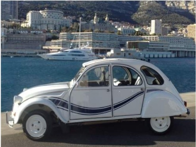 rent a citro n 2cv france 3 in cannes with easy car. Black Bedroom Furniture Sets. Home Design Ideas