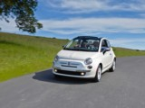 Rent the Fiat 500 convertible - automatic city car efficient trips expeditions convertible economic style comfort airport Nice Monaco Beaulieu sur Mer