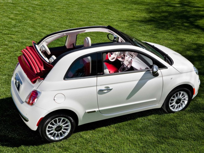 Rent A Fiat 500 Convertible In Nice With Easy Car Booking