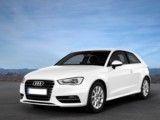 Rent the Audi A3 - luxury style comfort city car efficiency automatic modern Antibes Monaco Cannes Nice Juan Les Pins
