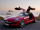 Rent the Mercedes SLS 6.3 Amg - Luxury Automatic Sport Convertible Car Vehicle Rental Hire Airport in Nice Cannes Monaco St Tropez
