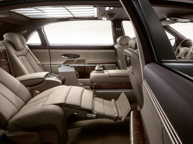 Rent a Maybach 57 in Cannes with Easy Car Booking Luxury car rental