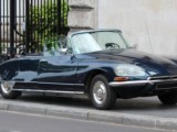 Rent car Nice Citroen DS convertible